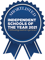 Shortlisted - Independent Schools of the Year 2021